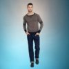 Pull jersey doux, style vintage, de Collectif