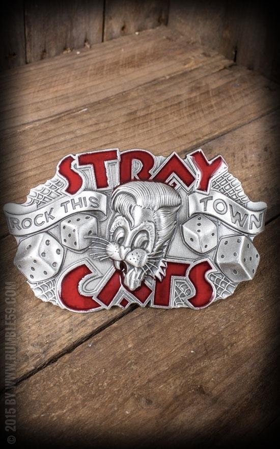 Boucle de ceinture Stray Cats, rockabilly
