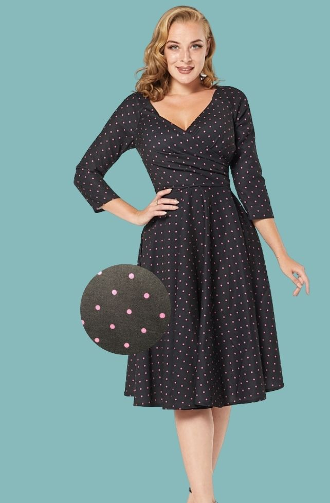 Robe swing style années 50