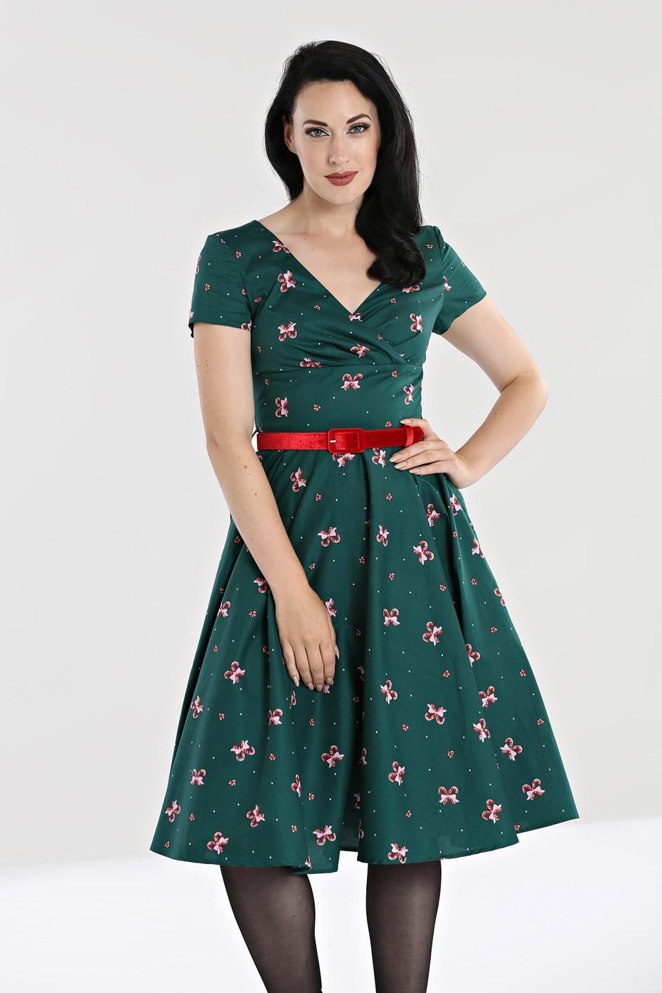 robe années 50 swing,