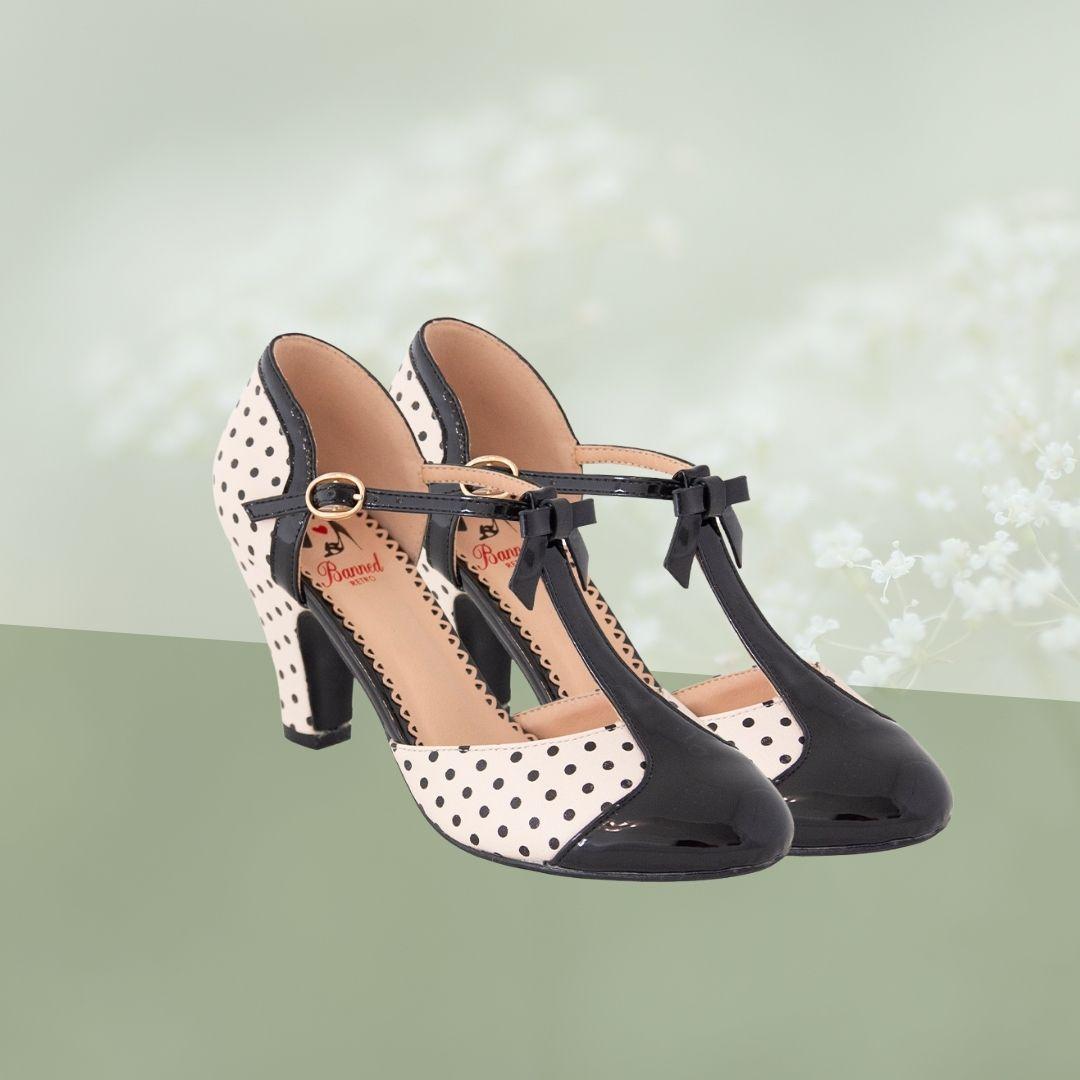 Chaussures à talons style vintage