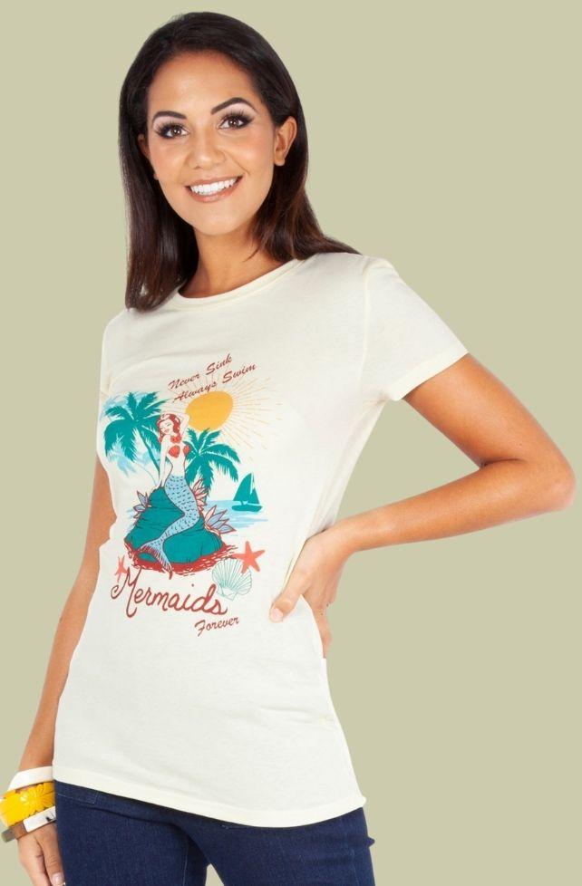 T-shirt Sirène pour toujours