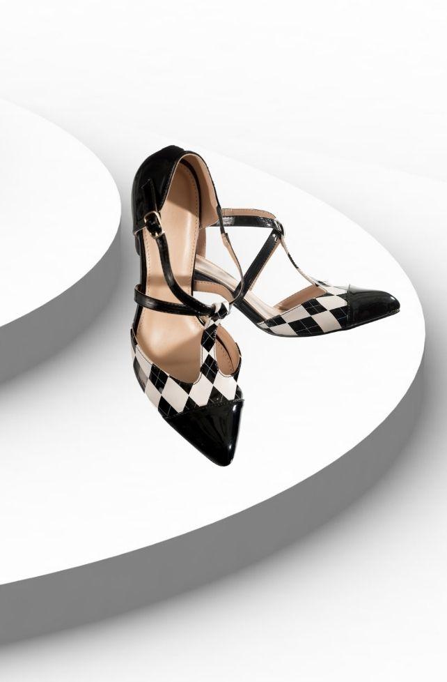 chaussures à talons vintage